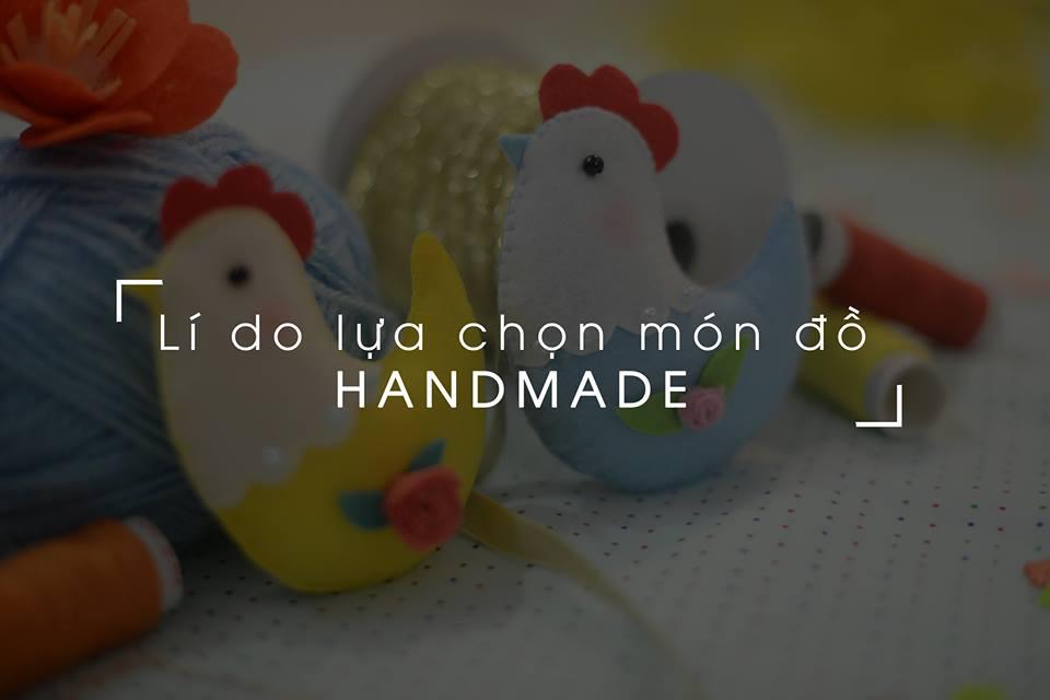 Ba lý do chọn sản phẩm handmade làm quà thôi nôi cho bé